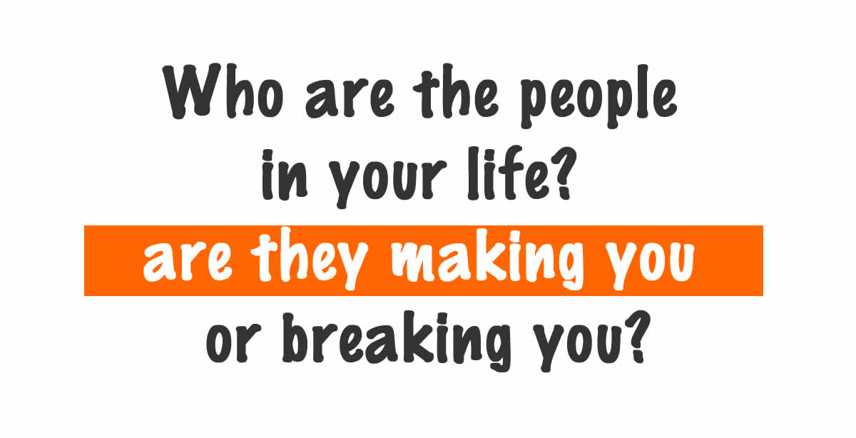 Who are the people in your life